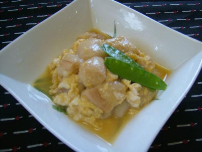 おつゆ麩の卵とじ 【離乳食に最適】